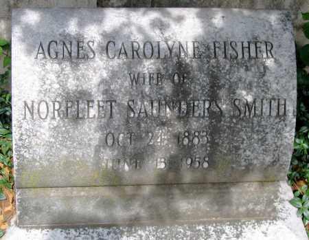 FISHER SMITH, AGNES CAROLYN - Powhatan County, Virginia   AGNES CAROLYN FISHER SMITH - Virginia Gravestone Photos