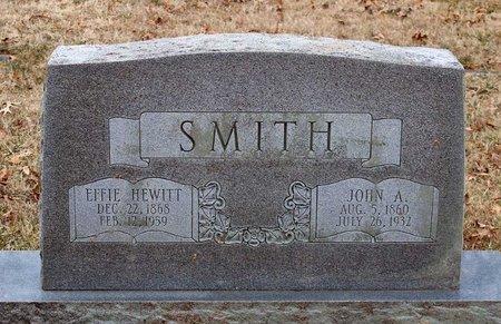 HEWITT SMITH, EFFIE - Powhatan County, Virginia | EFFIE HEWITT SMITH - Virginia Gravestone Photos
