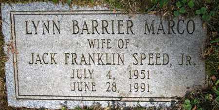 SPEED, LYNN BARRIER - Powhatan County, Virginia | LYNN BARRIER SPEED - Virginia Gravestone Photos