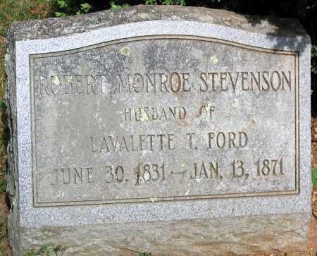 STEVENSON, ROBERT MONROE - Powhatan County, Virginia | ROBERT MONROE STEVENSON - Virginia Gravestone Photos