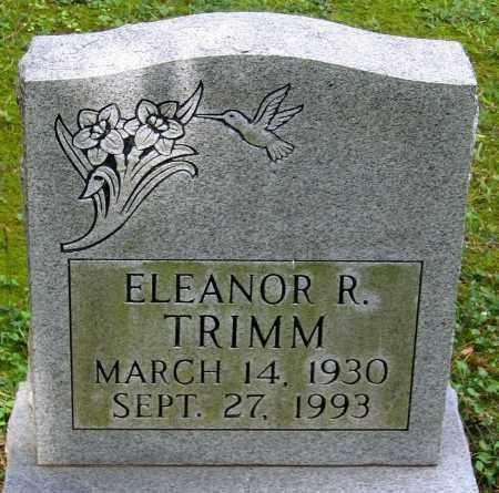 TRIMM, ELEANOR R. - Powhatan County, Virginia | ELEANOR R. TRIMM - Virginia Gravestone Photos