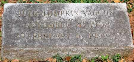 VAUGHN, JULIA LUMPKIN - Powhatan County, Virginia | JULIA LUMPKIN VAUGHN - Virginia Gravestone Photos