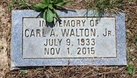 WALTON, CARL A. JR. - Powhatan County, Virginia   CARL A. JR. WALTON - Virginia Gravestone Photos