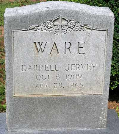 WARE, DARRELL JERVEY - Powhatan County, Virginia | DARRELL JERVEY WARE - Virginia Gravestone Photos