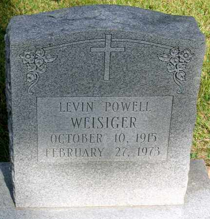WEISIGER, LEVIN POWELL - Powhatan County, Virginia | LEVIN POWELL WEISIGER - Virginia Gravestone Photos