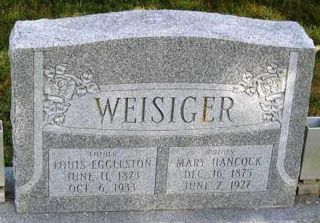 WEISIGER, LOUIS EGGLESTON - Powhatan County, Virginia | LOUIS EGGLESTON WEISIGER - Virginia Gravestone Photos