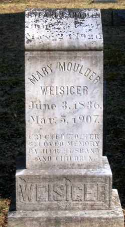 MOULDER WEISIGER, MARY - Powhatan County, Virginia | MARY MOULDER WEISIGER - Virginia Gravestone Photos