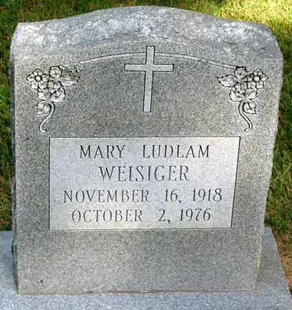 WEISIGER, MARY LUDLAM - Powhatan County, Virginia | MARY LUDLAM WEISIGER - Virginia Gravestone Photos