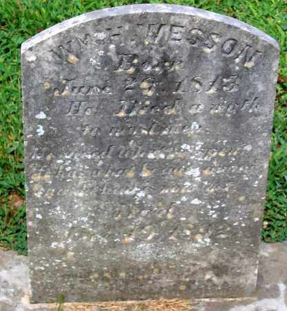 WESSON, WILLIAM H. - Powhatan County, Virginia   WILLIAM H. WESSON - Virginia Gravestone Photos