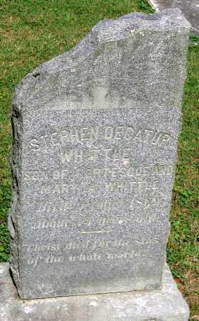 WHITTLE, STEPHEN DECATUR - Powhatan County, Virginia   STEPHEN DECATUR WHITTLE - Virginia Gravestone Photos