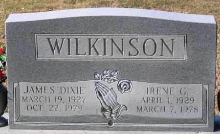 "WILKINSON, JAMES ""DIXIE"" - Powhatan County, Virginia   JAMES ""DIXIE"" WILKINSON - Virginia Gravestone Photos"