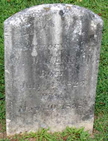 WILKINSON, WILLIAM W. - Powhatan County, Virginia | WILLIAM W. WILKINSON - Virginia Gravestone Photos