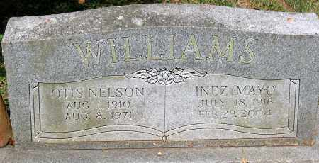 WILLIAMS, OTIS NELSON - Powhatan County, Virginia | OTIS NELSON WILLIAMS - Virginia Gravestone Photos