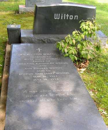 WILTON, JOHN HYLTON - Powhatan County, Virginia | JOHN HYLTON WILTON - Virginia Gravestone Photos