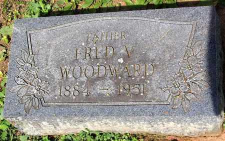 WOODWARD, FRED V. - Powhatan County, Virginia | FRED V. WOODWARD - Virginia Gravestone Photos