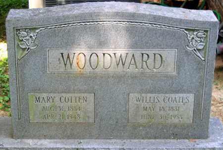 WOODWARD, MARY COTTEN - Powhatan County, Virginia   MARY COTTEN WOODWARD - Virginia Gravestone Photos