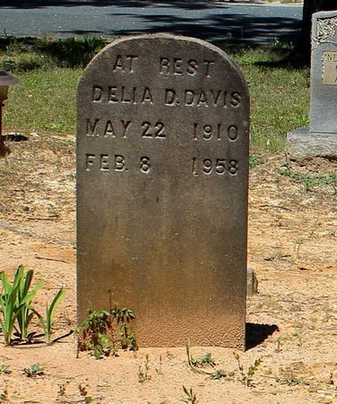 DAVIS, DELIA D. - Prince Edward County, Virginia   DELIA D. DAVIS - Virginia Gravestone Photos