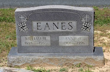 EANES, ANNIE F. - Prince Edward County, Virginia | ANNIE F. EANES - Virginia Gravestone Photos