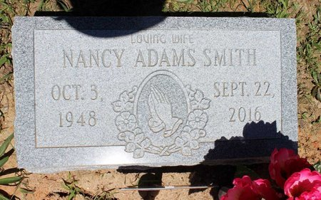 ADAMS SMITH, NANCY - Prince Edward County, Virginia | NANCY ADAMS SMITH - Virginia Gravestone Photos