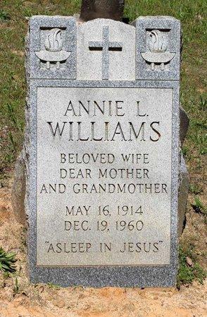 WILLIAMS, ANNIE L. - Prince Edward County, Virginia | ANNIE L. WILLIAMS - Virginia Gravestone Photos