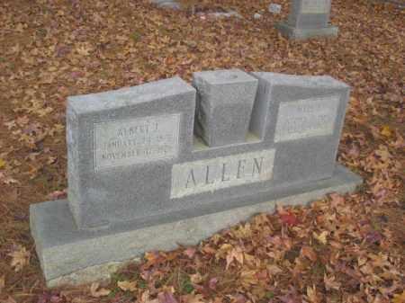 ALLEN, ALBERT J - Prince George County, Virginia   ALBERT J ALLEN - Virginia Gravestone Photos