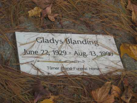 BLANDING, GLADYS - Prince George County, Virginia   GLADYS BLANDING - Virginia Gravestone Photos