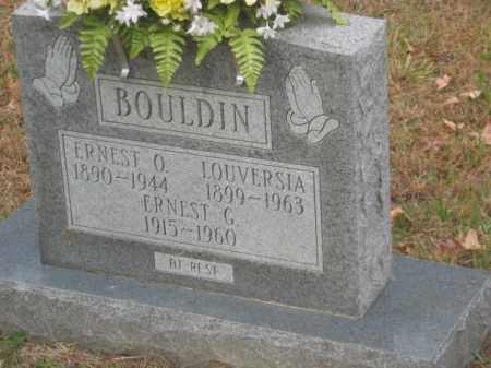 BOULDIN, LOUVERSIA - Prince George County, Virginia | LOUVERSIA BOULDIN - Virginia Gravestone Photos