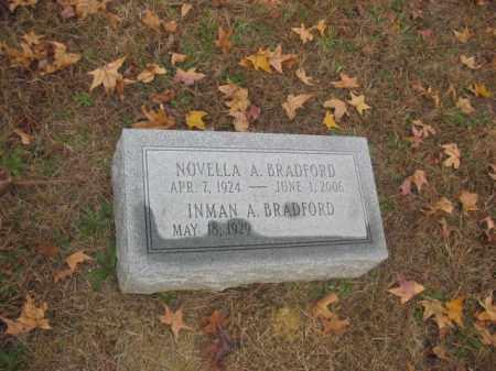 BRADFORD, INMAN A - Prince George County, Virginia   INMAN A BRADFORD - Virginia Gravestone Photos