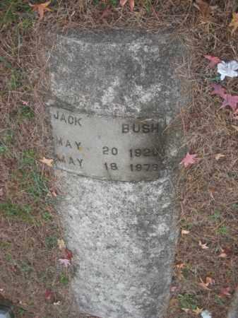 BUSH, JACK - Prince George County, Virginia   JACK BUSH - Virginia Gravestone Photos