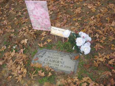 CLAIBORNE, MAGGIE ANN - Prince George County, Virginia   MAGGIE ANN CLAIBORNE - Virginia Gravestone Photos