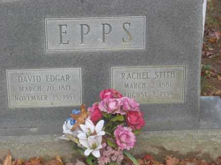 STITH EPPS, RACHEL - Prince George County, Virginia | RACHEL STITH EPPS - Virginia Gravestone Photos