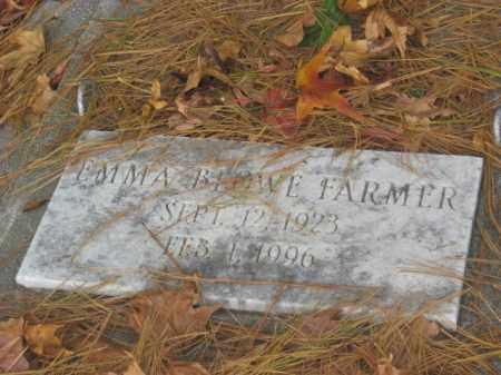 BLOWE FARMER, EMMA - Prince George County, Virginia | EMMA BLOWE FARMER - Virginia Gravestone Photos