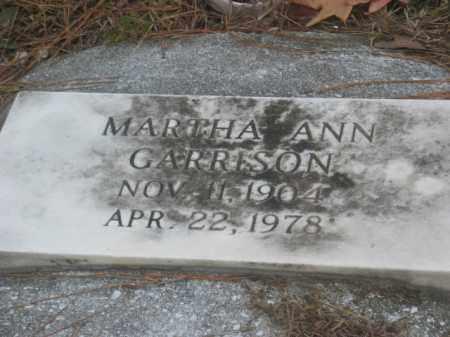 GARRISON, MARTHA ANN - Prince George County, Virginia   MARTHA ANN GARRISON - Virginia Gravestone Photos