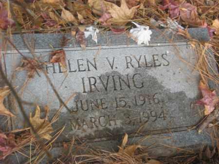 IRVING, HELEN V - Prince George County, Virginia | HELEN V IRVING - Virginia Gravestone Photos