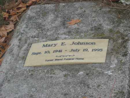 JOHNSON, MARY E - Prince George County, Virginia | MARY E JOHNSON - Virginia Gravestone Photos