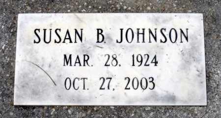 JOHNSON, SUSAN B. - Prince George County, Virginia   SUSAN B. JOHNSON - Virginia Gravestone Photos