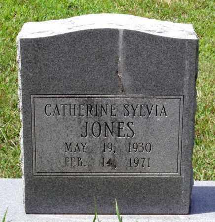 JONES, CATHERINE SYLVIA - Prince George County, Virginia   CATHERINE SYLVIA JONES - Virginia Gravestone Photos