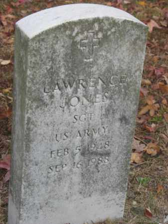 JONES, LAWRENCE - Prince George County, Virginia | LAWRENCE JONES - Virginia Gravestone Photos