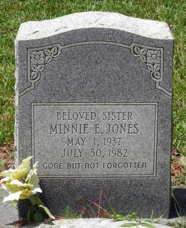 JONES, MINNIE E. - Prince George County, Virginia | MINNIE E. JONES - Virginia Gravestone Photos