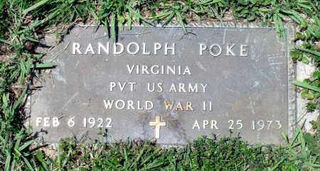 POKE, RANDOLPH - Prince George County, Virginia | RANDOLPH POKE - Virginia Gravestone Photos