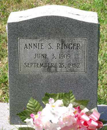 RINGER, ANNIE S. - Prince George County, Virginia | ANNIE S. RINGER - Virginia Gravestone Photos