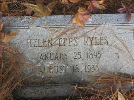RYLES, HELEN - Prince George County, Virginia | HELEN RYLES - Virginia Gravestone Photos