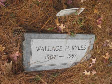 RYLES, WALLACE H - Prince George County, Virginia | WALLACE H RYLES - Virginia Gravestone Photos