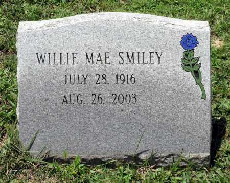 SMILEY, WILLIE MAE - Prince George County, Virginia | WILLIE MAE SMILEY - Virginia Gravestone Photos