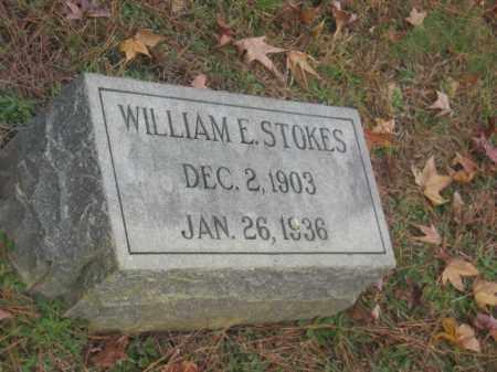 STOKES, WILLIAM E - Prince George County, Virginia | WILLIAM E STOKES - Virginia Gravestone Photos