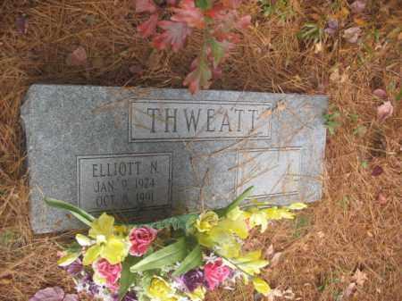 THWEATT, ELLIOT N - Prince George County, Virginia   ELLIOT N THWEATT - Virginia Gravestone Photos
