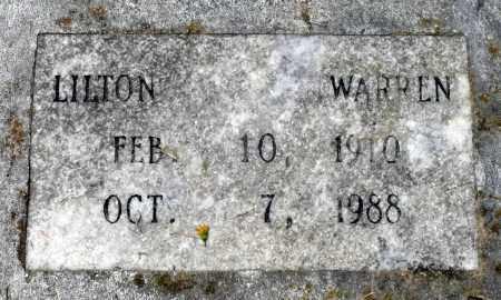 WARREN, LILTON - Prince George County, Virginia   LILTON WARREN - Virginia Gravestone Photos