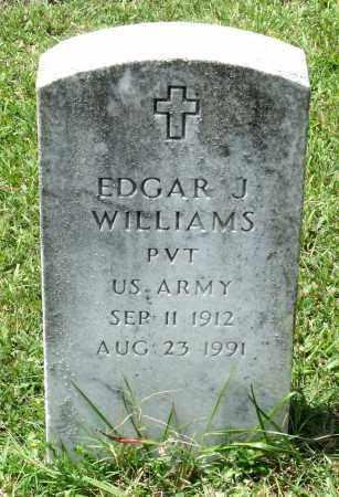 WILLIAMS, EDGAR J. - Prince George County, Virginia | EDGAR J. WILLIAMS - Virginia Gravestone Photos