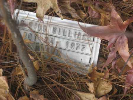 WILLIAMS, S. KIDD - Prince George County, Virginia   S. KIDD WILLIAMS - Virginia Gravestone Photos