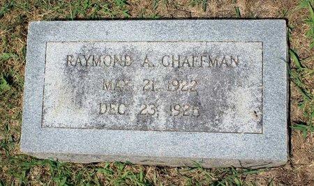 CHAFFMAN, RAYMOND A. - Pulaski County, Virginia   RAYMOND A. CHAFFMAN - Virginia Gravestone Photos